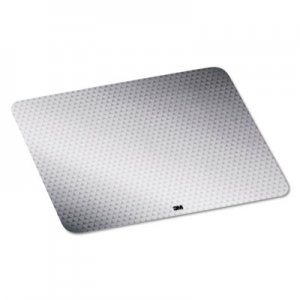 3M MMMMP200PS2 Precise Mouse Pad, Nonskid Repositionable Adhesive Back, Gray Frostbyte