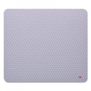 3M MMMMP114BSD1 Precise Mouse Pad, Nonskid Back, 9 x 8, Gray/Bitmap