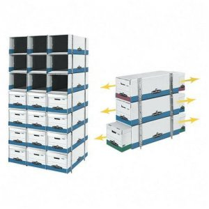 Fellowes 00524 Bankers Box Stax Cubes Storage FEL00524