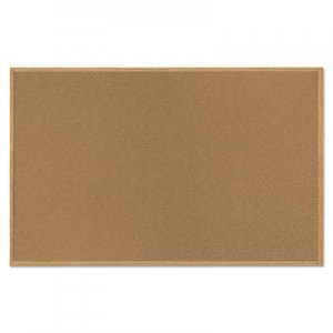 MasterVision BVCSF352001239 Value Cork Bulletin Board with Oak Frame, 48 x 72, Natural