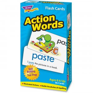 TREND 53013 Action Words Skill Drill Flash Cards