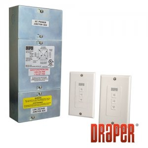 Draper 121224 Low Voltage Control with 2 Switches LVC-IV, 2 LVC-S