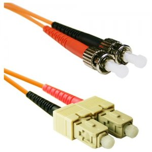 ENET SCST-50-15M-ENC SC to ST MM Duplex 50/125 Fiber Cable