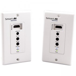 SmartAVI HDX-W100S HDMI + IR Over a Single Cat5e/6 Wall Plate Extender