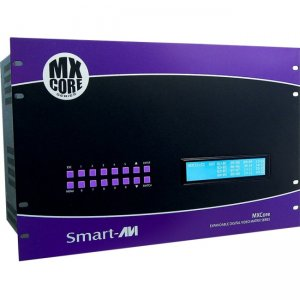 SmartAVI MXC-UH12X16S MXCORE-UH Expandable HDMI 12X16 Matrix Switcher