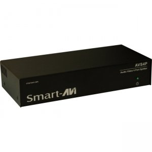 SmartAVI AVS4PS WUXGA/Audio Splitter 4-Port