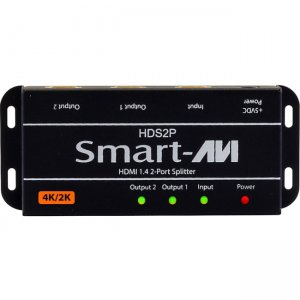 SmartAVI HDS2PS HDMI 2-Port Splitter HDS-2PS
