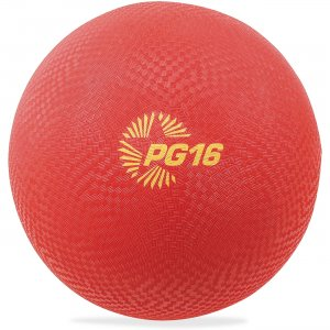 "Champion Sport PG16RD Playground Ball, 16"", Red"