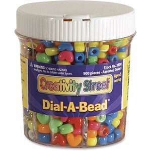 ChenilleKraft 3500 Dial-A-Bead Jar Assortment