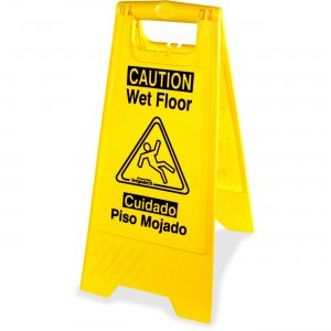 Genuine Joe 85117CT Universal Graphic Wet Floor Sign