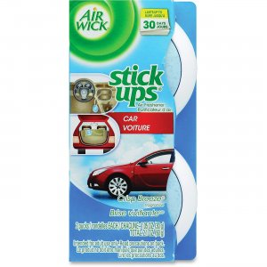 Airwick 85823 Stick Ups Scented Car Air Freshener RAC85823