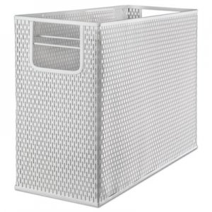 Artistic AOPART20010WH Urban Collection Punched Metal Desktop File, 13 x 5 3/4 x 10 3/4, White