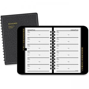 At-A-Glance 80-201-05 Telephone and Address Book AAG8020105