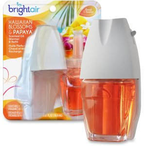 Bright Air 900254CT Hawaiian Scented Oil Warmer Combo