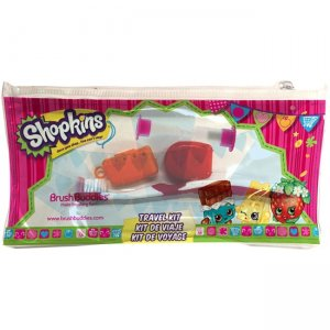 Brush Buddies 00595-24 Shopkins Travel Kit