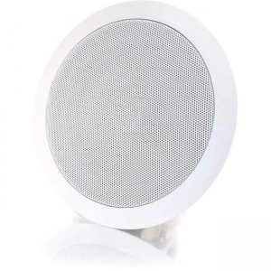 C2G 39904 6in Ceiling Speaker - White (Each)