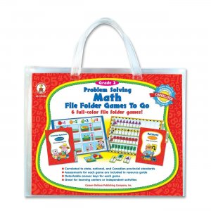 Carson-Dellosa 140032 Problem Solving Math Game