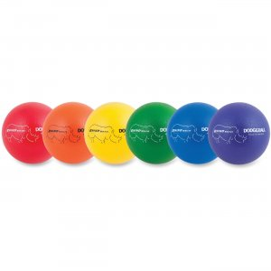 "Champion Sports RXD8SET Low Bounce 7"" Dodgeballs Set CSIRXD8SET"