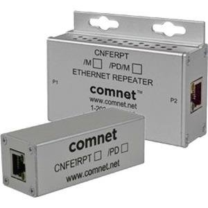 ComNet CNFE1RPT/M 10/100 Mbps Ethernet Repeater With 60 W Pass-Through PoE