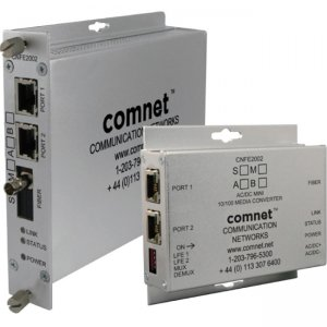 ComNet CNFE2004S1APOE/M 2 Ch 10/100 Mbps Ethernet 1310/1550nm, 30 W PoE+, A Side