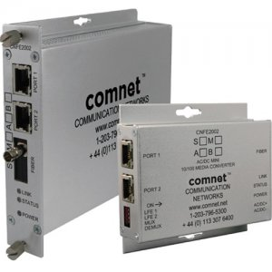ComNet CNFE2002M1A/M 2 Channel 10/100 Mbps Ethernet 1310/1550nm