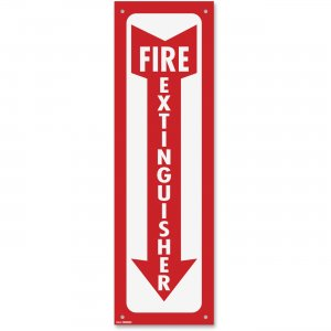 COSCO 098063 Fire Extinguisher Sign COS098063