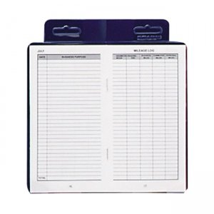 Dome 771 Publishing Deluxe Auto Mileage Log Book DOM771