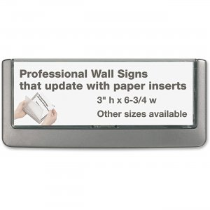 Durable 4976-37 CLICK SIGN Holder DBL497637
