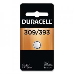 Duracell DURD309393 Button Cell Silver Oxide, 309/395