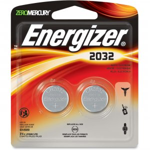 Energizer 2032BP2CT 2032 Watch/Electronic Batteries