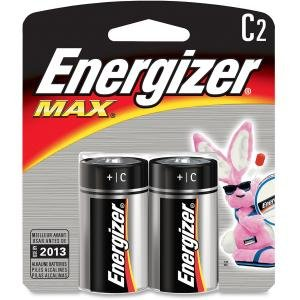 Energizer E93BP2CT Max Alkaline C Batteries