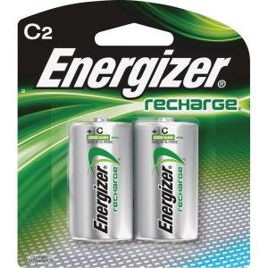 Energizer NH35BP2CT NiMH e2 Rechargeable C Batteries