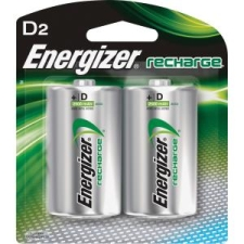 Energizer NH50BP2CT NiMH e2 Rechargeable D Batteries