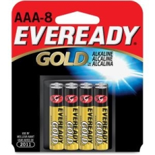 Eveready A92BP8CT Gold Alkaline AAA Batteries
