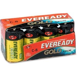 Eveready A938CT Gold Alkaline C Batteries
