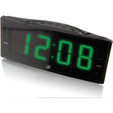 GPX C353B Clock Radio with Dual Alarm