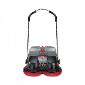 Hoover Commercial L1405 SpinSweep Pro Outdoor Sweeper, Black HVRL1405