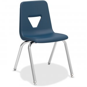 "Lorell 99890 18"" Stacking Student Chair"