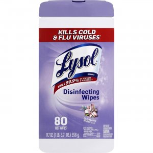 LYSOL 89347 Morning Breeze Disinfecting Wipes RAC89347