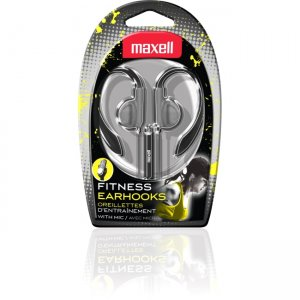 Maxell 199635 Fitness Earhook with MIC EH-131S