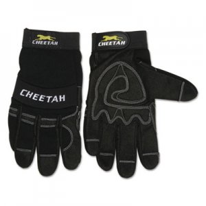 MCR Safety CRW935CHS Cheetah 935CH Gloves, Small, Black