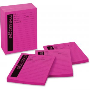 Post-it MMM 7662-12 Telephone Message Pad MMM7662