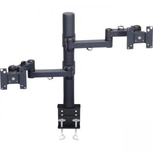 Premier Mounts MM-AC282 Articulating Arm for Two Displays on 28 in. Tube with Clamp Base