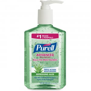 PURELL 967412CT Advanced With Aloe Instant Hand Sanitizer GOJ967412CT