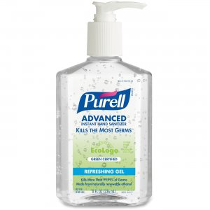 PURELL 969112CT Green Certified Instant Hand Sanitizer GOJ969112CT