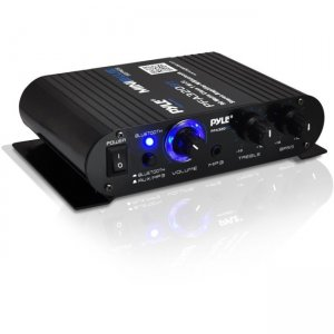 PyleHome PFA330BT Mini Blue Amplifier