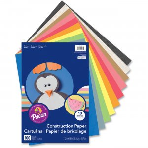 Rainbow 94460 Super Value Construction Paper PAC94460