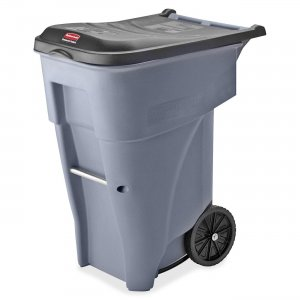 Rubbermaid 9W2100GY Big Wheel General Roll-out Container RCP9W2100GY