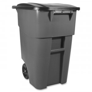 Rubbermaid 9W27-00GRAY Brute Waste Container RCP9W2700GRAY