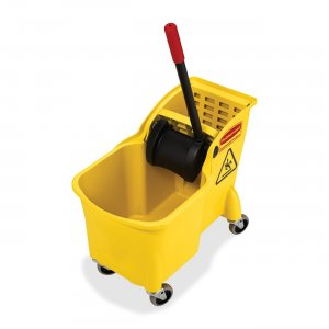 Rubbermaid 738000YL Mop Bucket Combination RCP738000YL
